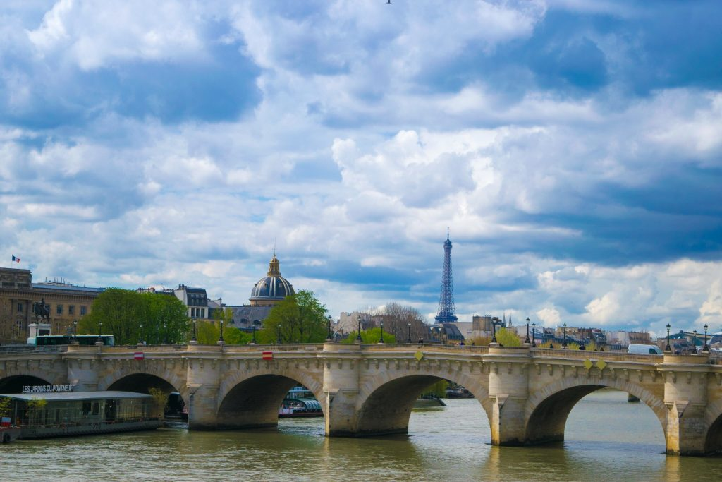 Pont Neuf, Eiffel Tower, Paris, France