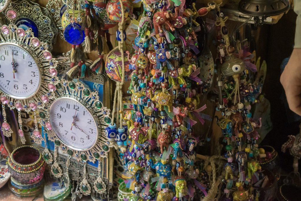 Evil eye - souvenirs; Grand Bazaar; Istanbul