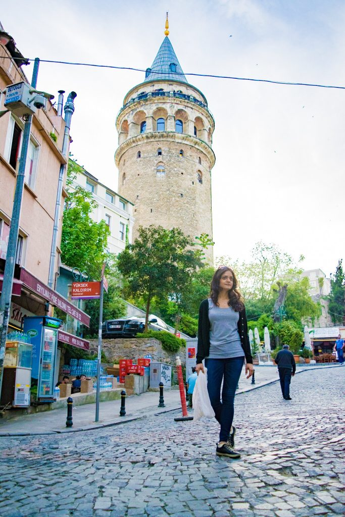 Istanbul - the city straddle between two continents