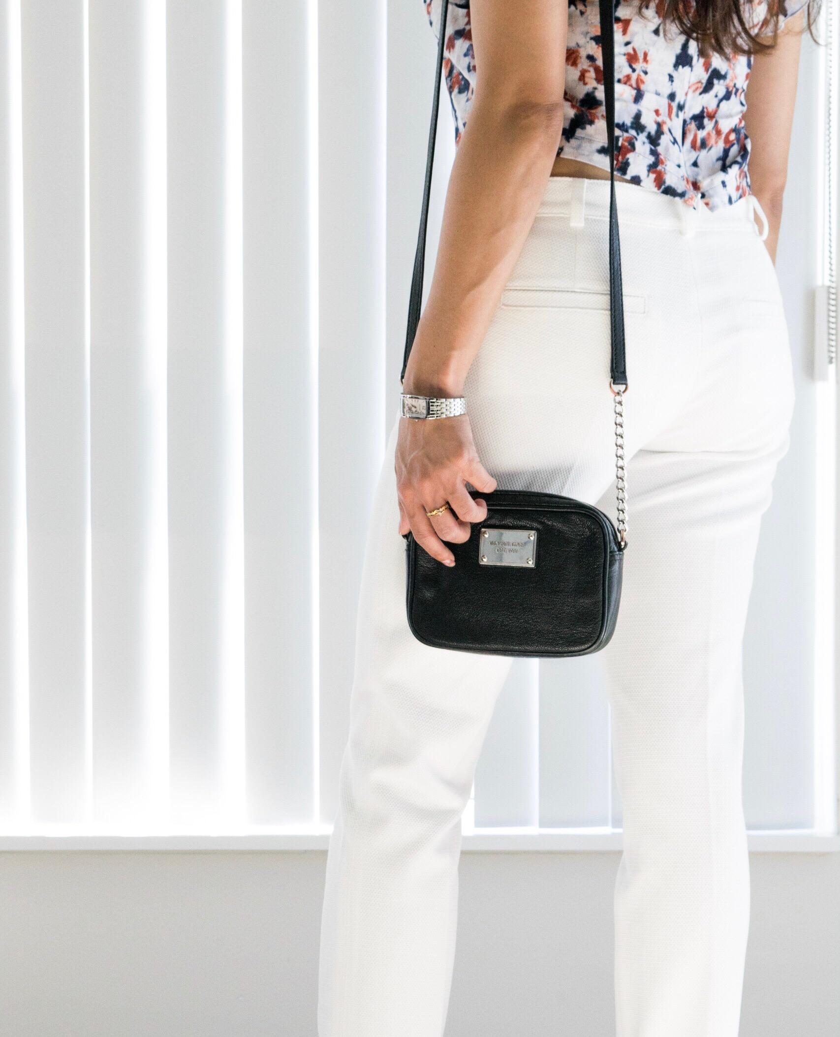 Crossbody Handbag and Wrist Watch - Nidhi Patel