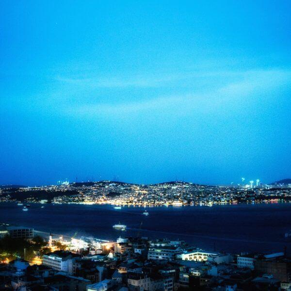 Galata Tower - Night view, Beyoglu