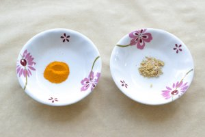 Turmeric, Asafoetida - Spices for Daal