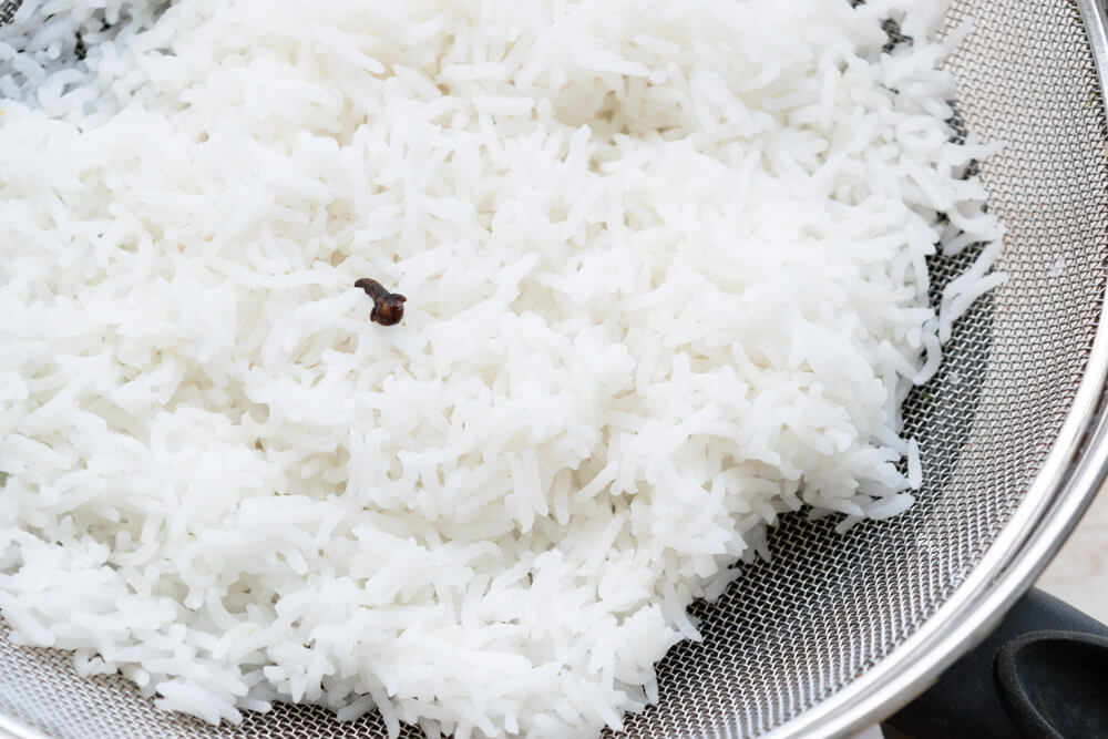 Clove Infused Basmati Rice
