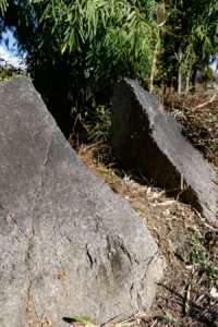 The rock split by the lightenings - when a place has history you know.