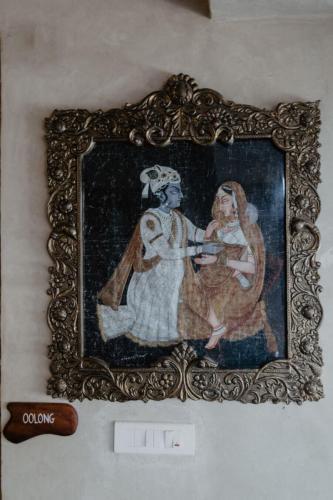 Radha and Krishna Art