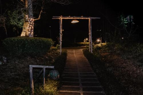 Way to the gardens