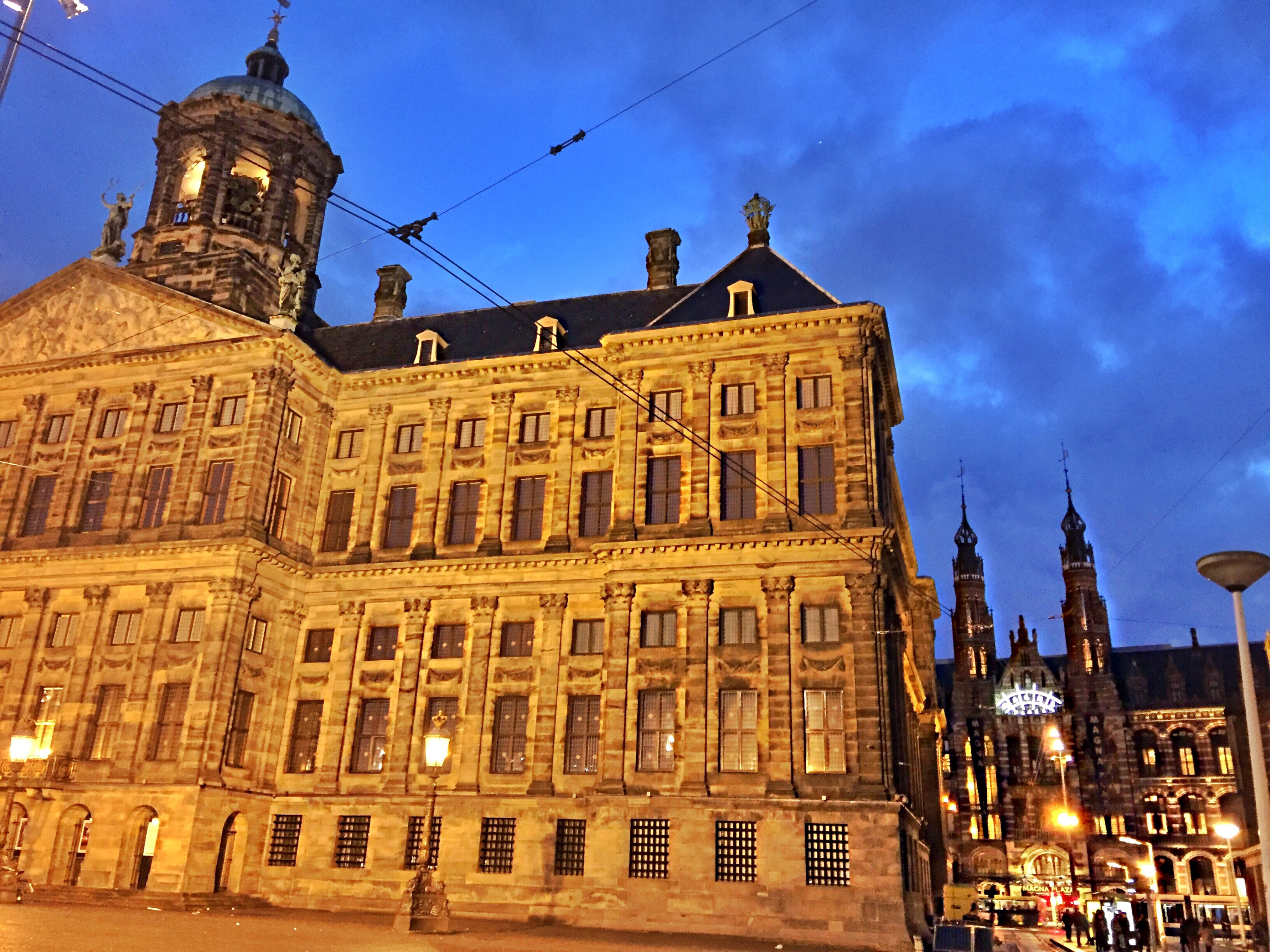 Dam Square - The Dutch Royal Palace