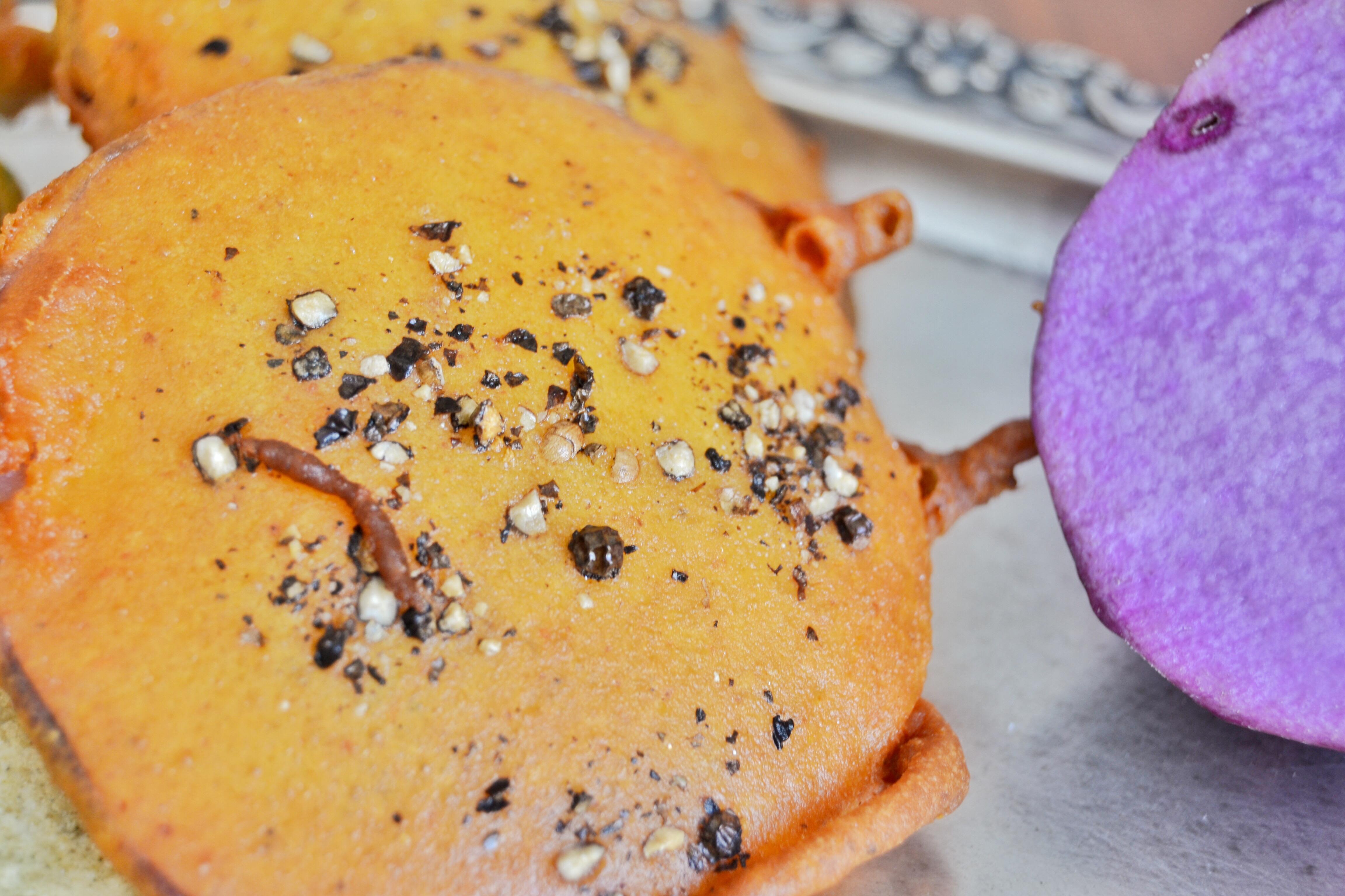 Deep fried - Ratalupuri, pakora, bhajiya