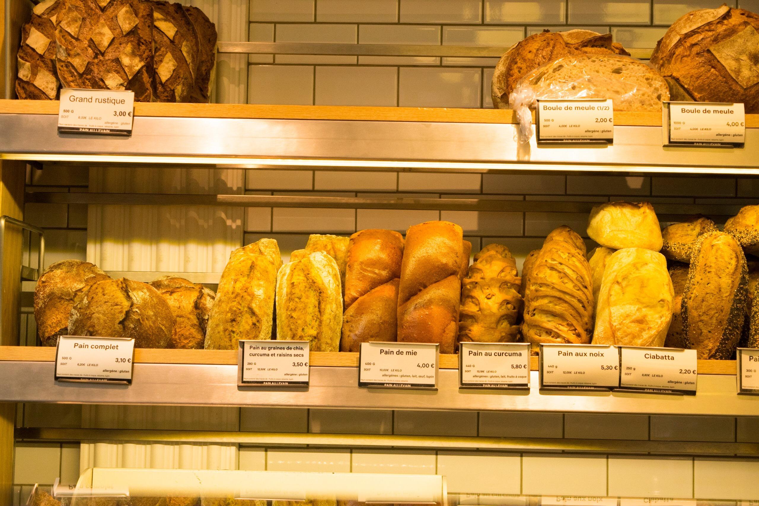 Eric Kayser Breads