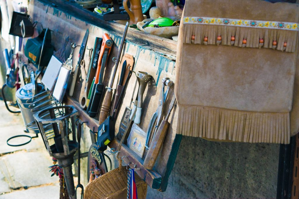 Tools on Street, Paris, France