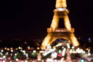 Bokeh Eiffel Tower