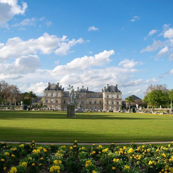Jardin du luxembourg Palace