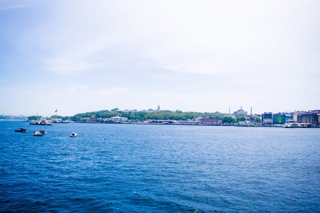 Golden Horn and Galata Tower