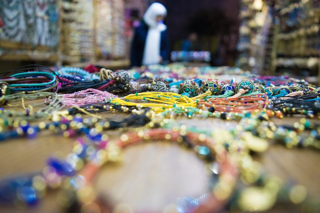 beautiful beaded bracelets, Istanbul