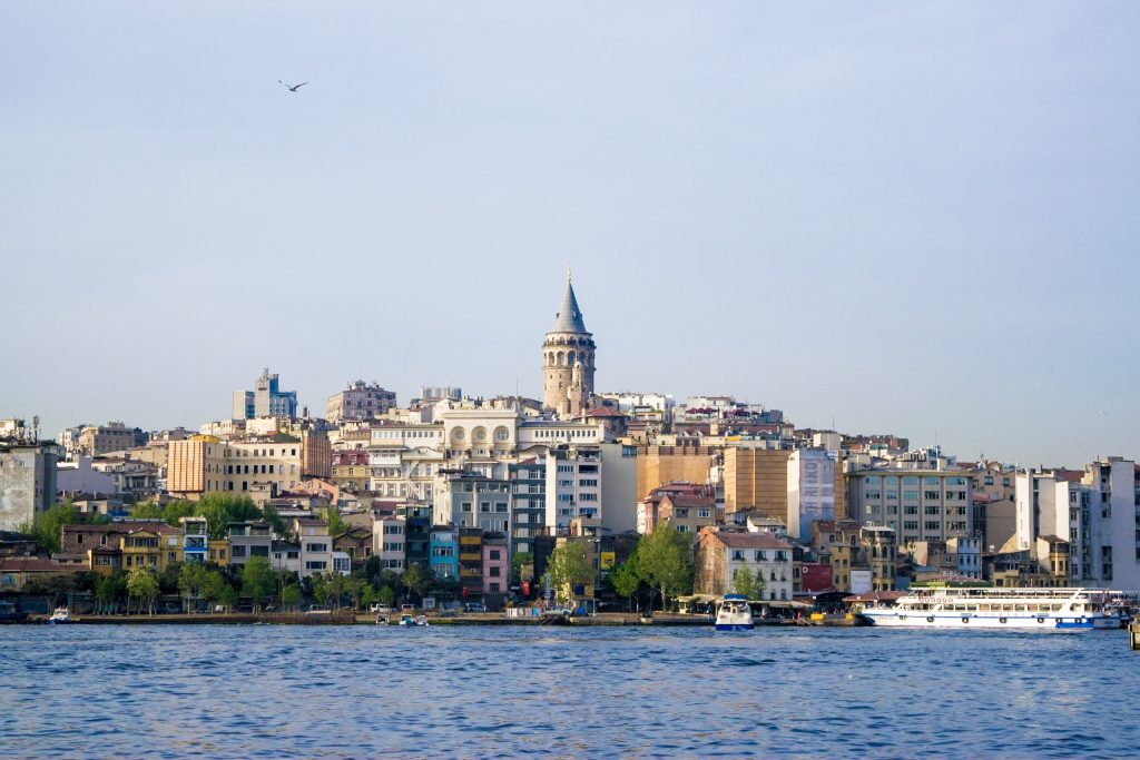 Galata Tower views across the Golden Horn
