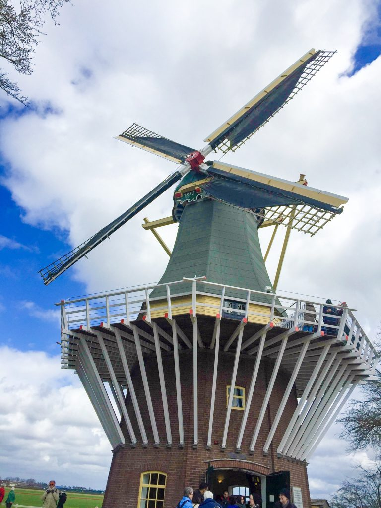 Windmill tower; You can climb to the top