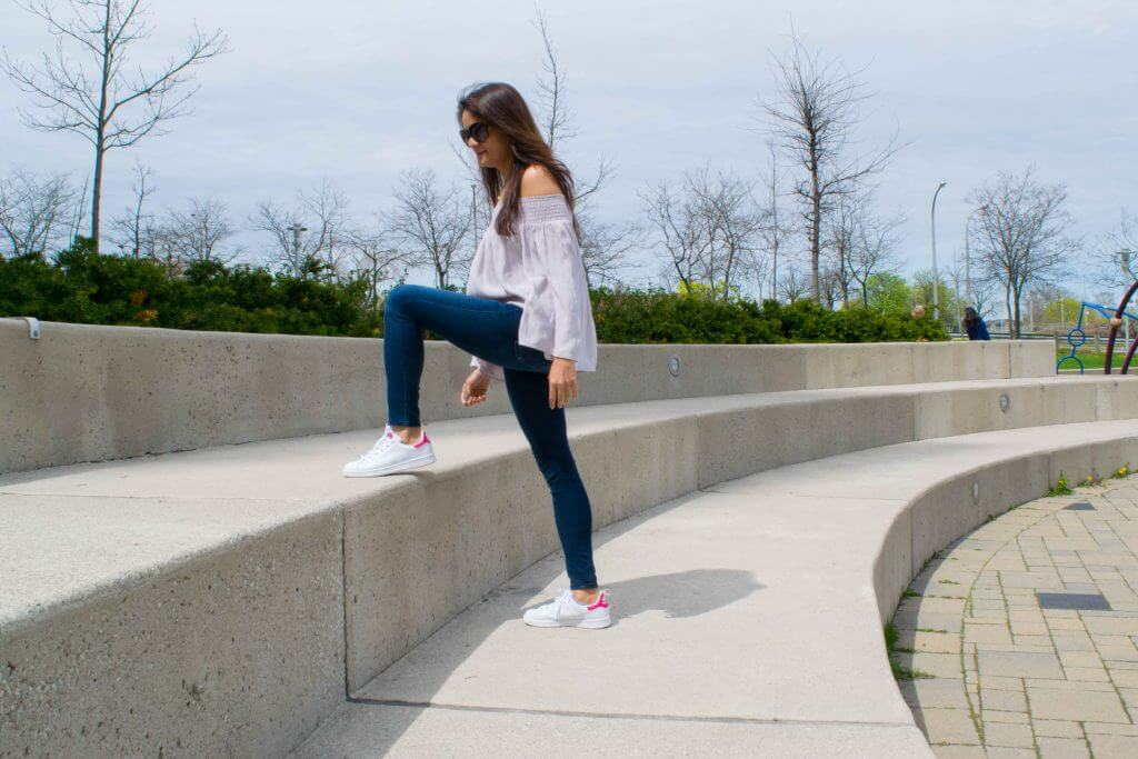 Climb up the stairs - NidhiPatel.com