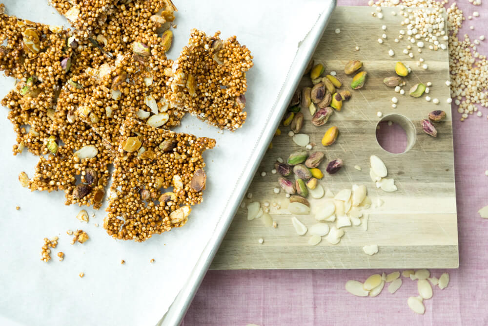 Quinoa Chikki; Ingredients