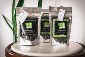 Kangra Green tea, Black, and Lemongrass tea